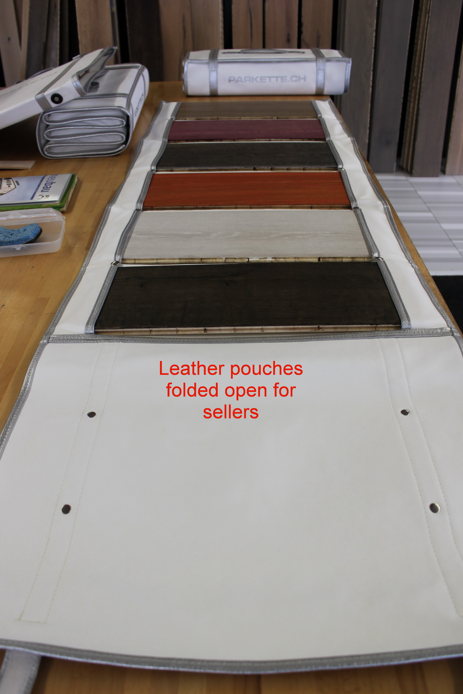 Leatherfolder (Price on request)